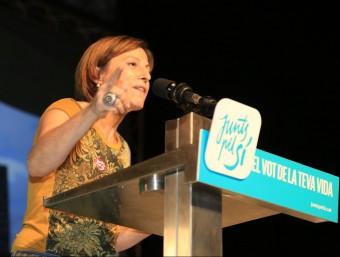 Carme Forcadell ha estat presidenta de l'ANC durant tres anys ARXIU