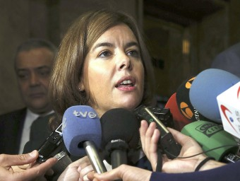 La vicepresidenta del govern espanyol, Soraya Sáenz de Santamaría EFE