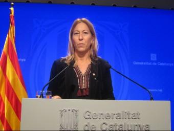 La vicepresidenta i portaveu del govern, Neus Munté EP