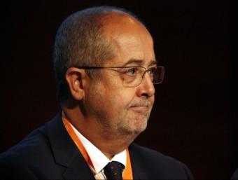El conseller d'Empresa i Ocupació, Felip Puig, aquest dimecres a Tarragona ACN