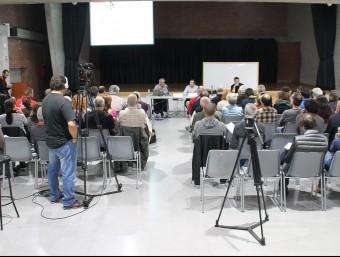 Sessió informativa d'ahir sobre el pressupost i les ordenances de Terrassa J.A