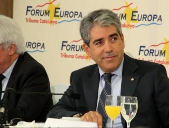 El conseller de la Presidència, Francesc Homs ACN
