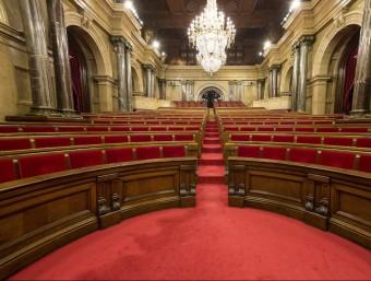 L'hemicicle del Parlament de Catalunya ALBERT SALAMÉ