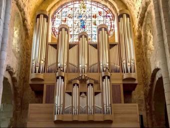 L'orgue que s'escoltarà el va construïr el 2012 l'empresa suïssa Metzler Orgelbau AG EPN