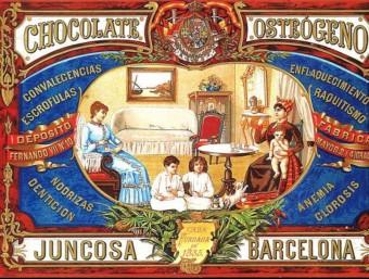 Xocolates Juncosa va ser present a l'exposició universal de Filadèlfia.  ARXIU