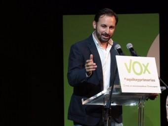 Santiago Abascal, líder de Vox EUROPA PRESS
