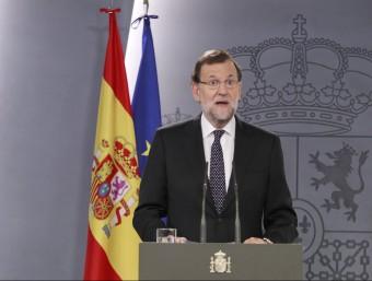 El president espanyol, Mariano Rajoy EP