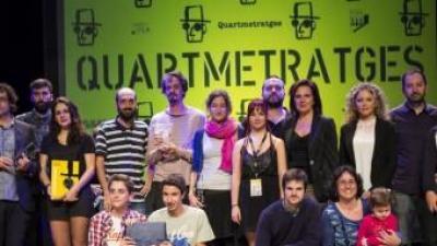 Imatge de grup dels participants guardonats en aquesta edició. EL PUNT AVUI