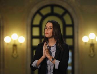 Inés Arrimadas aquest dimecres al Parlament EFE