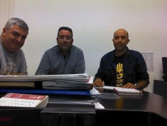 Reunió entre els representants municpals i la Px1NME. EL PUNT AVUI