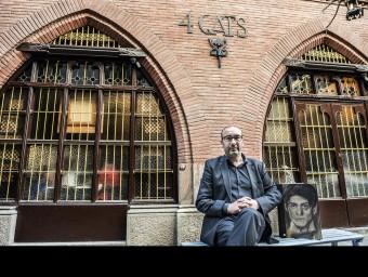 Eduard Vallès, als Quatre Gats JOSEP LOSADA