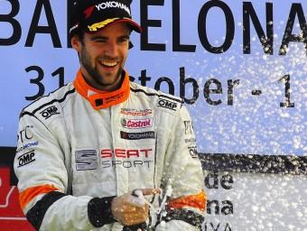 Pol Rosell, al circuit de Barcelona-Catalunya LLUÍS VERT