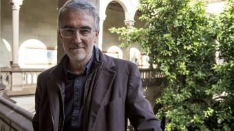 El professor Albert Soler  CREU QUE AMB L'AJUDA DEL PAPA FRANCESC RAMON LLULL PODRIA SER DECLARAT SANT I DOCTOR DE L'ESGLÉISA AQUEST 2016 ANDREU PUIG
