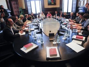 Carme Forcadell presideix la Junta de Portaveus al Parlament EFE