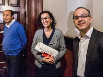 Marta Rovira i Jordi Turull, al Parlament aquest dimarts JOSEP LOSADA