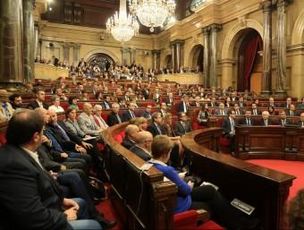 Una imatge de la constitució del nou Parlament, el 26 d'octubre passat ANDREU PUIG