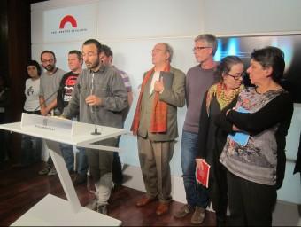 Els diputats de la CUP valoren el discurs d'Artur Mas, aquest dilluns al Parlament ACN