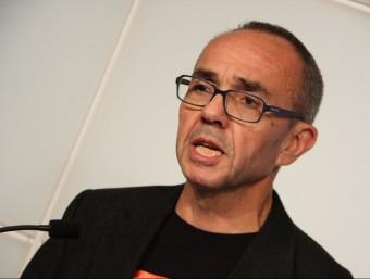 El portaveu de CSQP, Joan Coscubiela, aquest dilluns al faristol del Parlament ACN