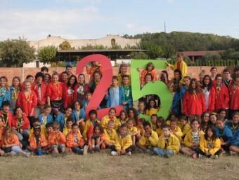 L'Agrupament està format per un centenar de joves LA CLACA