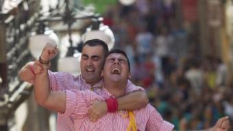 Els Xiquets de Tarragona a la diada de Sant Magí J. CARLOS LEÓN