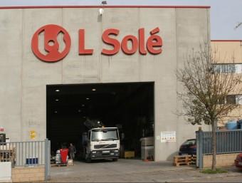 La façana de l'empresa LSolé, de Massanes, en una imatge d'arxiu. LLUÍS SERRAT