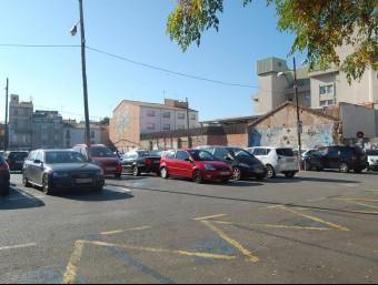 L'aparcament de zona blava del Vapor Turull, al centre de Sabadell S. P
