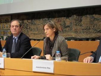 La presidenta del Parlament, Carme Forcadell EP