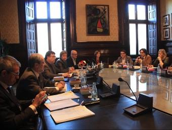 Reunió de la Mesa del Parlament del 17 de novembre ACN