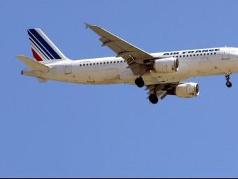 Un avió d'Air France ARXIU