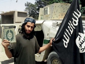 Abdelhamid Abaaoud en una imatge a Síria REUTERS