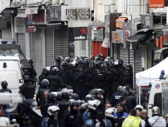 En l'operatiu policial s'han mobilitzat 110 agents EFE