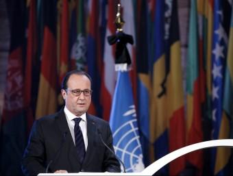 El president de França, François Hollande, aquest dimecres al migdia REUTERS