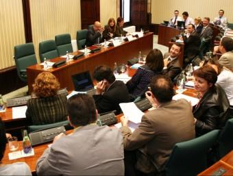 La comissió de la sindicatura de comptes, en una imatge d'arxiu. ACN
