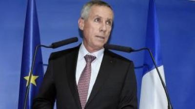 El fiscal general de París en una de les seves intervencions públiques sobre els atemptat de París AFP