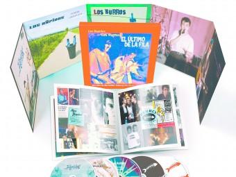 El material que inclou la capsa SONY MUSIC