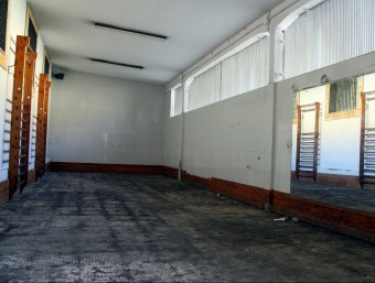 Pla general del gimnàs de l'actual centre penitenciari de Tarragona ROGER SEGURA