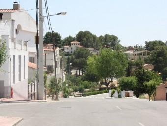 Un carrer dels Pallaresos.  EL PUNT AVUI