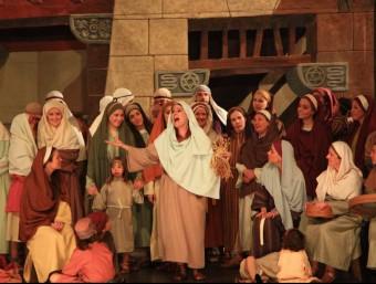 Una escena de les representacions dels Pastorets de la Sala Cabanyes. CLARA DE RAMON