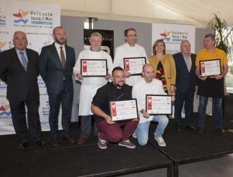 Premiats al concurs gastronòmic de Bocairent. B. SILVESTRE