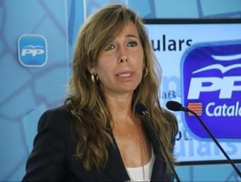 Alícia Sánchez Camacho, presidenta del PP de Catalunya EUROPA PRESS
