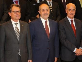 El president de la Generalitat, Artur Mas, aquest dijous a Martorell ACN