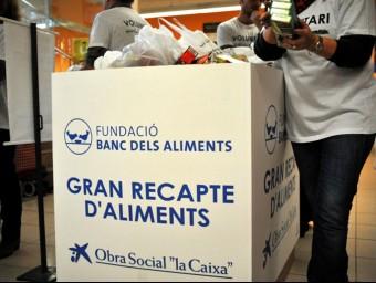 El Gran Recapte compta amb 2.500 punts de recollida d'aliments ARXIU