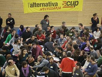 L'assemblea nacional de la CUP del 2013 que es va celebrar a Olot ARXIU / MANEL LLADÓ