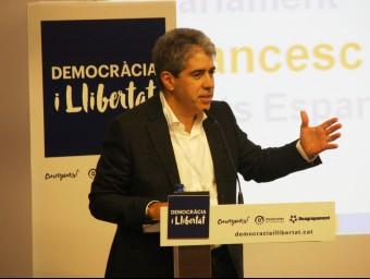 El cap de llista de Democràcia i Llibertat, Francesc Homs ACN