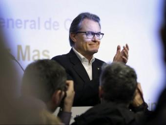 Artur Mas en l'acte de CDC EFE