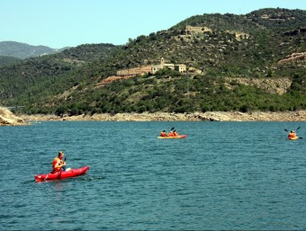 Al pantà de Rialb ja s'hi va celebrar el mes d'abril una jornada reivindicativa amb activitats esportives, a favor de la seva declaració com a estació nàutica d'interior ACN
