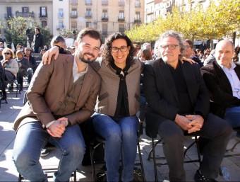 Rufián, Rovira i Tardà, aquest diumenge a Valls ACN