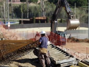 Obres de construcció a Montgat QUIM PUIG
