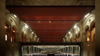 El superordinador s'ubica en una antiga capella al campus nord de l'UPC EL PUNT AVUI