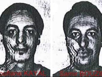 Imatge dels dos sospitosos facilitada per les autoritats belgues EFE